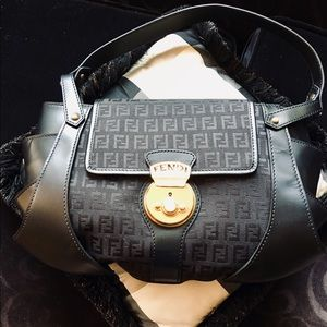 Fendi monogram purse with authenticity card